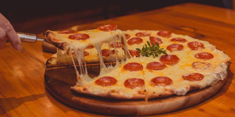En äkta italiensk pizzeria